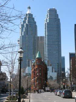 Gooderham Building in Toronto